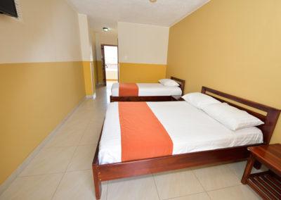 Habitaciones - Trible Clase B - Hotel La Aldea